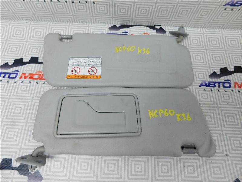 Козырек солнцезащитный Toyota Ist NCP60-0238673 2NZ-FE 2006