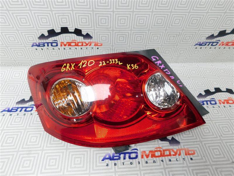 Стоп Toyota Mark X GRX120-0069636 4GR-FSE 2006 левый