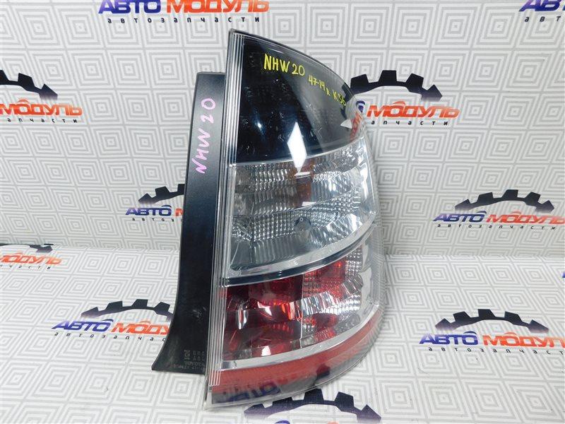 Стоп Toyota Prius NHW20-0067499 1NZ-FXE 2004 задний правый
