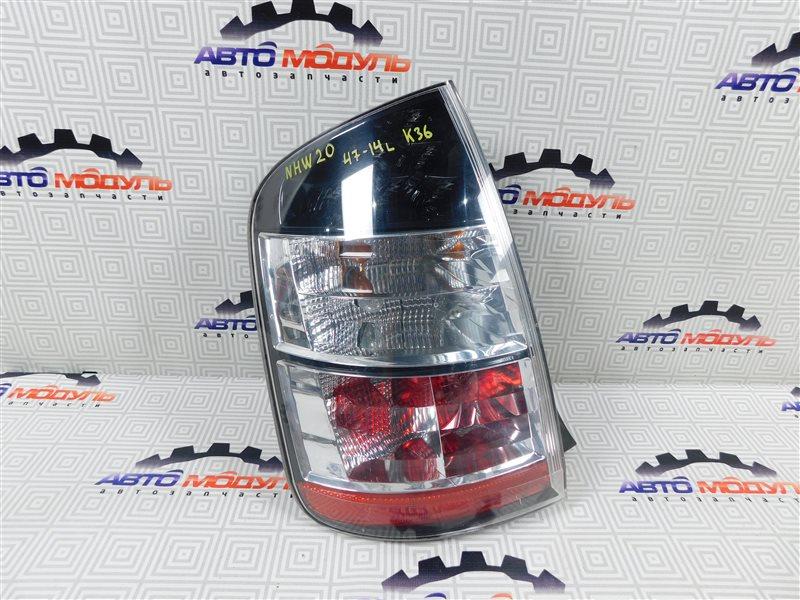 Стоп Toyota Prius NHW20-0067499 1NZ-FXE 2004 задний левый