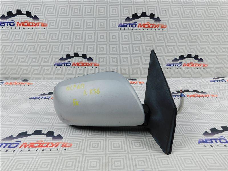 Зеркало Toyota Ist NCP60-0238673 2NZ-FE 2006 правое