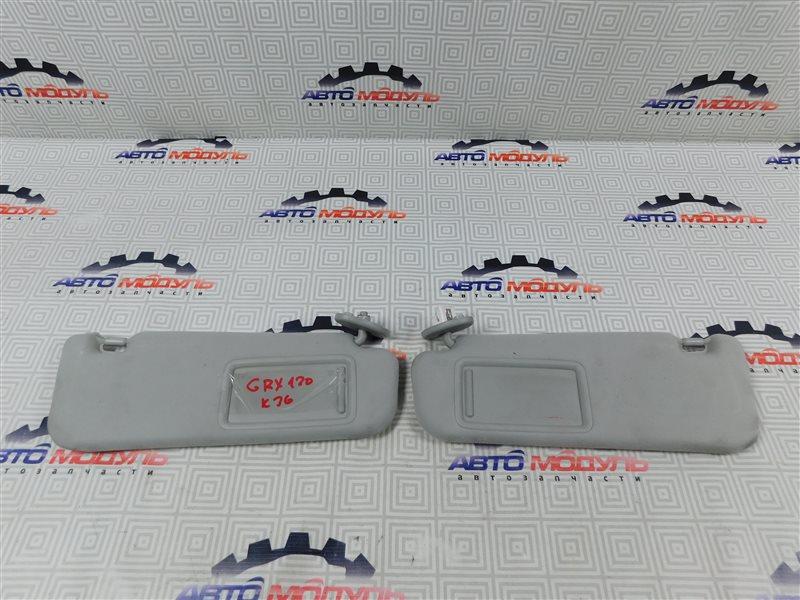 Козырек солнцезащитный Toyota Mark X GRX120-0069636 4GR-FSE 2006