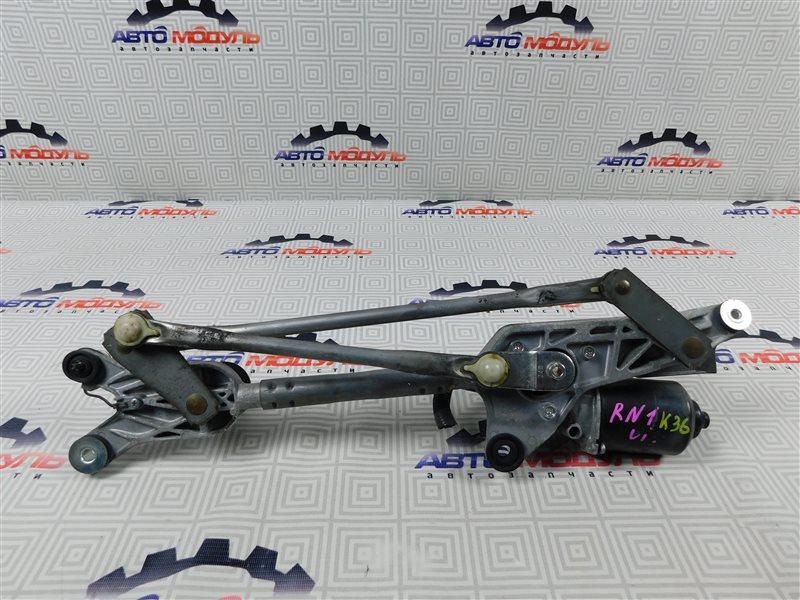 Мотор дворников Honda Stream RN1-2100054 D17A передний