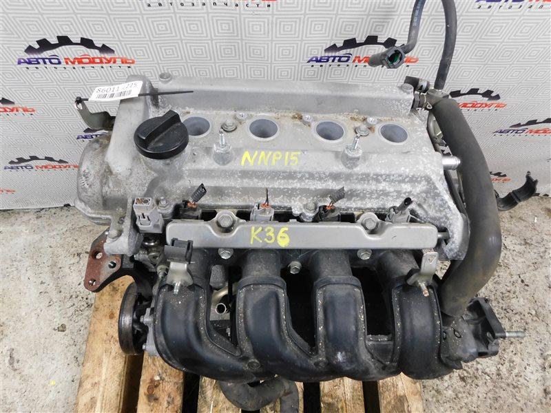 Двигатель Toyota Porte NNP15-5008600 1NZ-FE 2007