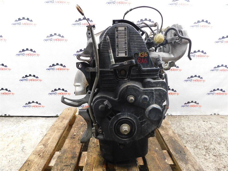 Двигатель Honda Odyssey RA6-1063211 F23A