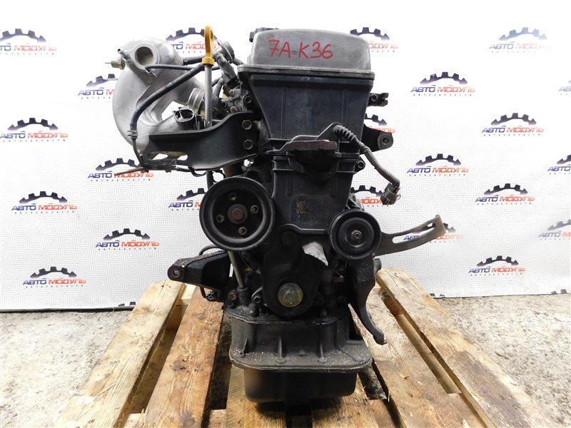 Двигатель Toyota Carina AT211-6065783 7A-FE 2000