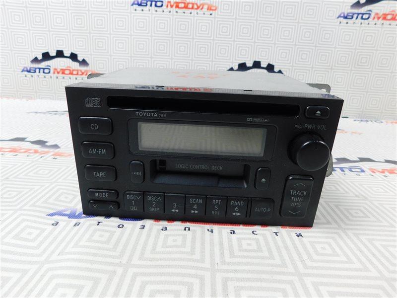 Магнитофон Toyota Caldina ST191-4039168 3S-FE 1996