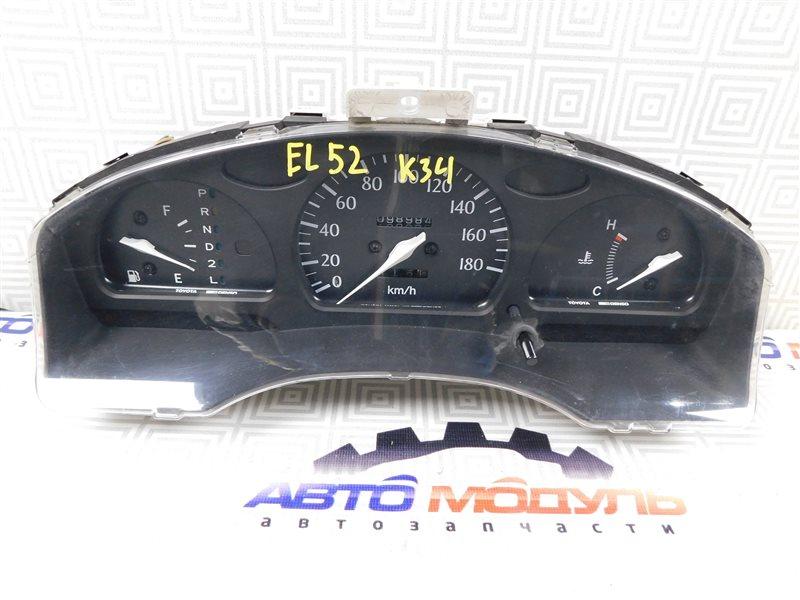 Панель приборов Toyota Cynos EL52-0001387 4E-FE 1995