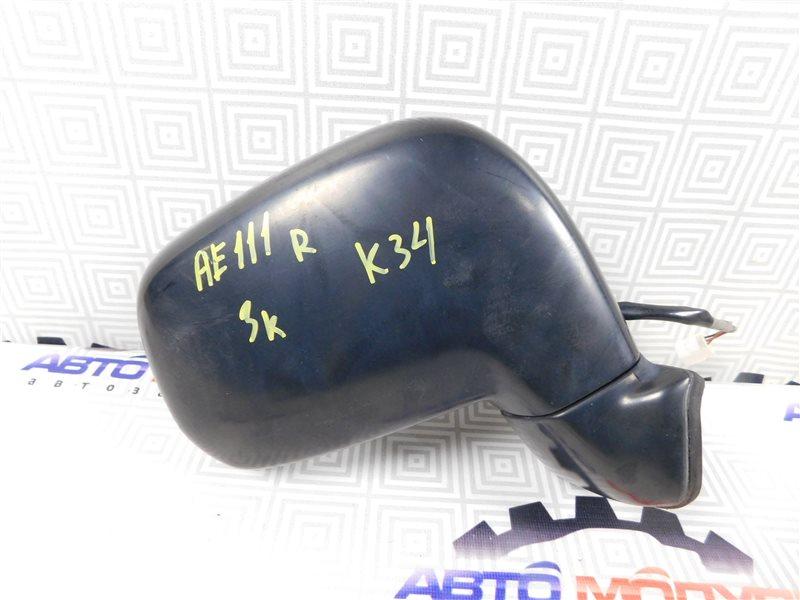 Зеркало Toyota Corolla Spacio AE111-6120547 4A-FE 1999 правое