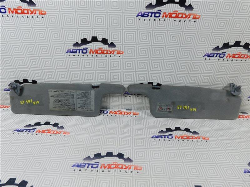 Козырек солнцезащитный Toyota Caldina ST191-4039168 3S-FE 1996