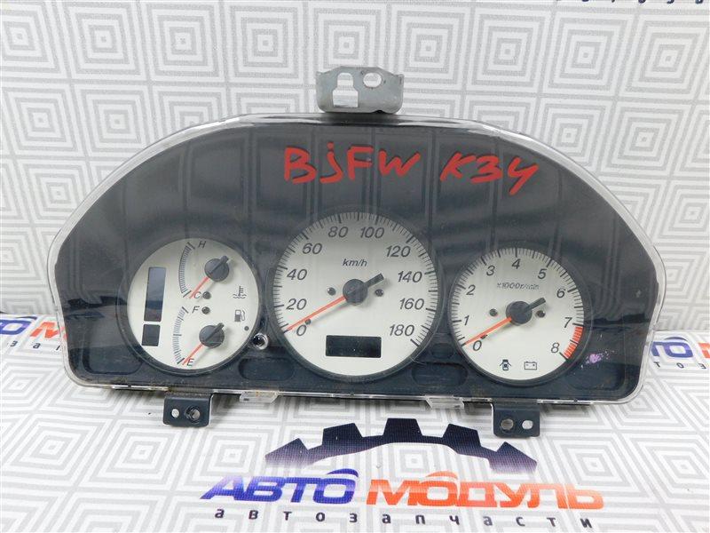 Панель приборов Mazda Familia S-Wagon BJFW-104603 FS 2000