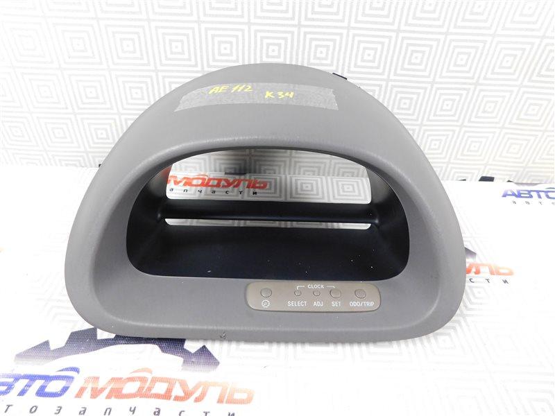 Консоль панели приборов Toyota Corolla Spacio AE111-6120547 4A-FE 1999