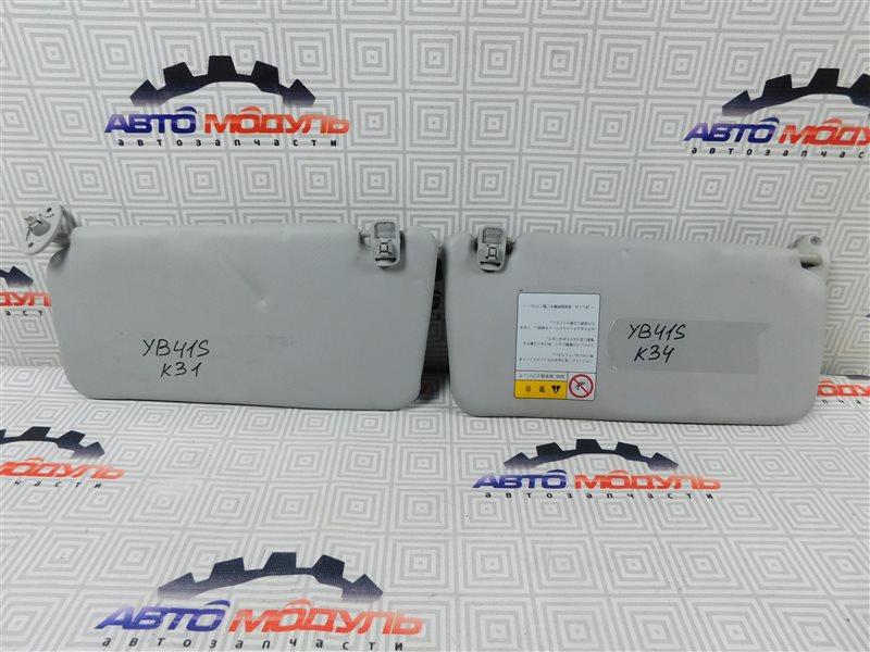Козырек солнцезащитный Suzuki Sx4 YB41S-200024 J20A 2008