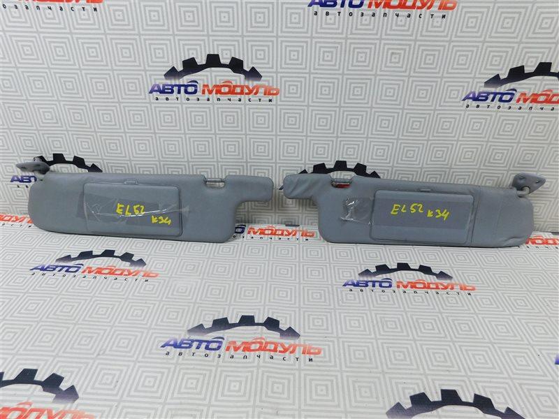 Козырек солнцезащитный Toyota Cynos EL52-0001387 4E-FE 1995