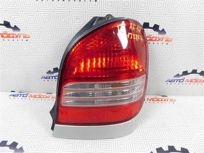 Стоп Toyota Corolla Spacio AE111-6120547 4A-FE 1999 правый