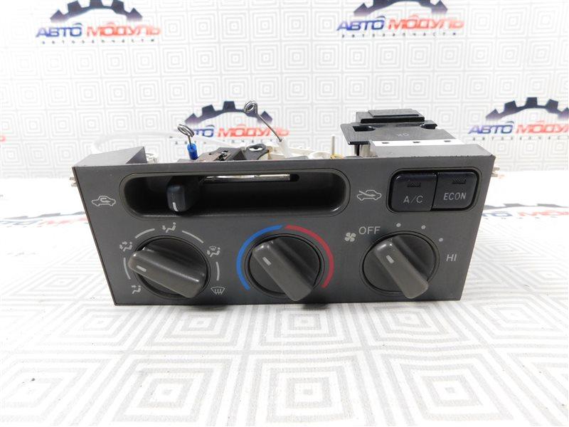 Блок управления климат-контролем Toyota Corolla Spacio AE111-6120547 4A-FE 1999
