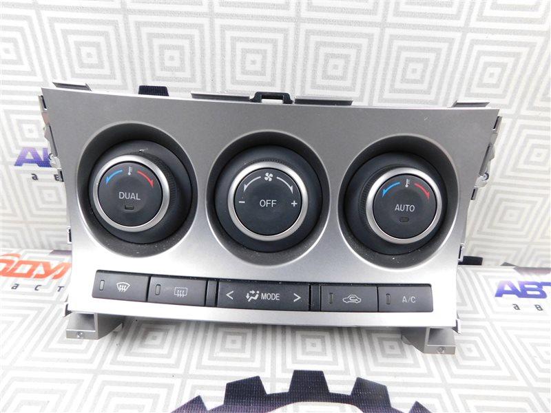 Блок управления климат-контролем Mazda Axela BL5FP-102192 ZY-VE 2009