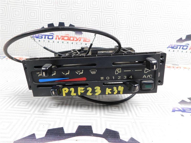 Блок управления климат-контролем Nissan Atlas P2F23-057113 TD27 2001