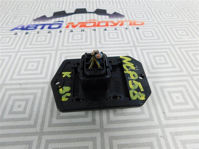 Реостат печки Toyota Probox NCP58-0022872 1NZ-FE 2003