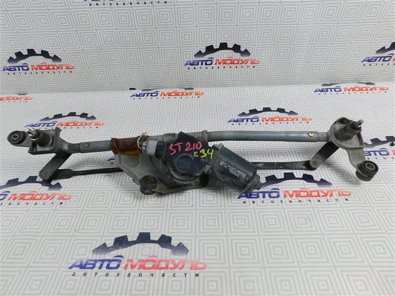 Мотор дворников Toyota Caldina ST210-4002125 3S-FE 1997 передний