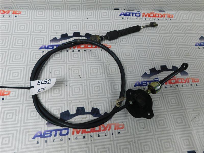 Трос переключения акпп Toyota Cynos EL52-0001387 4E-FE 1995