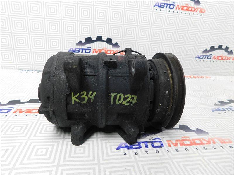 Компрессор кондиционера Nissan Atlas P2F23-057113 TD27 2001