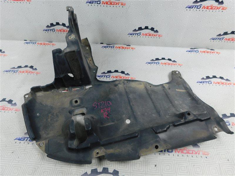 Защита двигателя Toyota Caldina ST210-4002125 3S-FE 1997 передняя правая