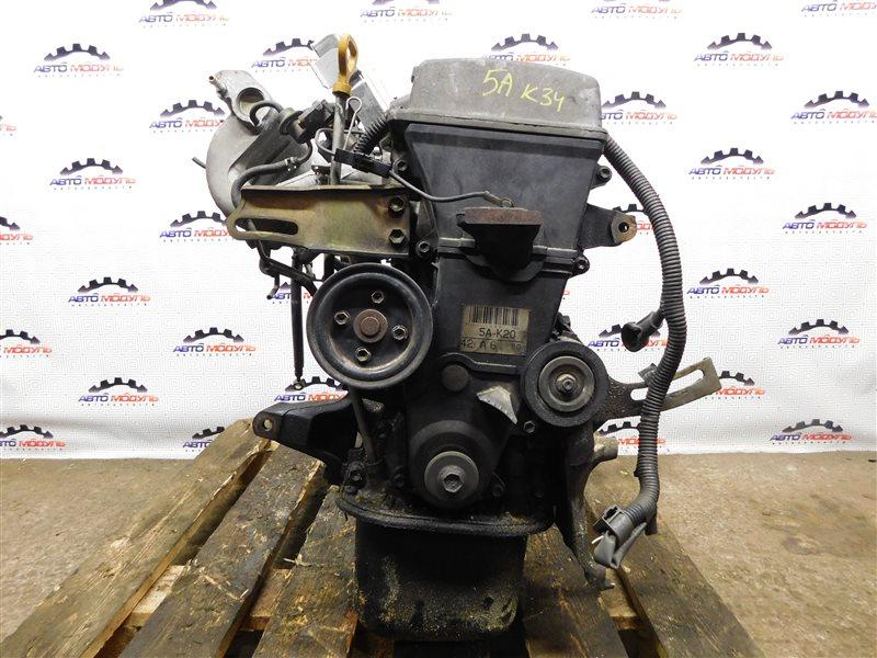 Двигатель Toyota Sprinter AE110-7010805 5A-FE 1996