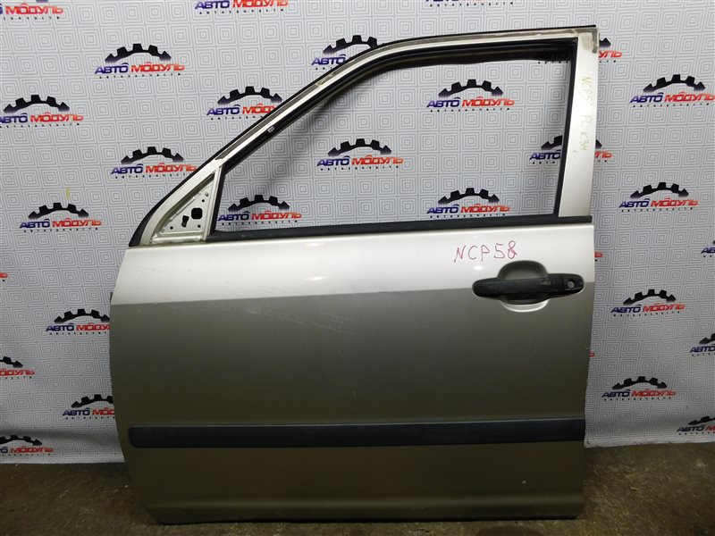 Дверь Toyota Probox NCP58-0022872 1NZ-FE 2003 передняя левая