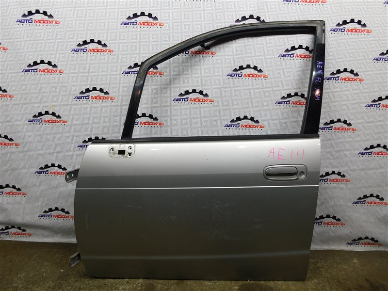 Дверь Toyota Corolla Spacio AE111-6120547 4A-FE 1999 передняя левая