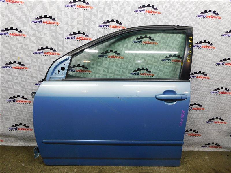 Стекло двери Toyota Corolla Runx NZE121-5071169 1NZ-FE 2003 переднее левое