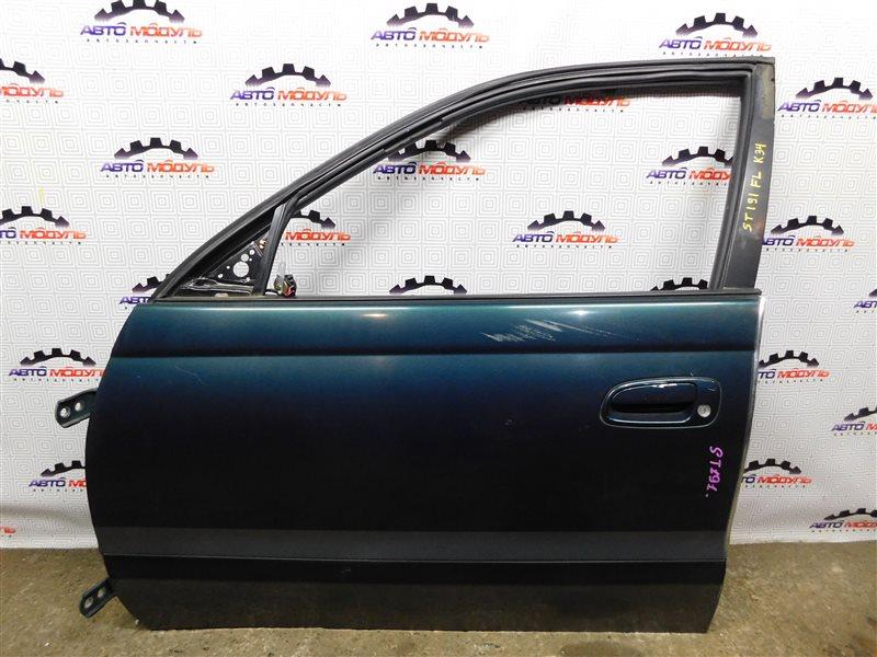 Стекло двери Toyota Caldina ST191-4039168 3S-FE 1996 переднее левое