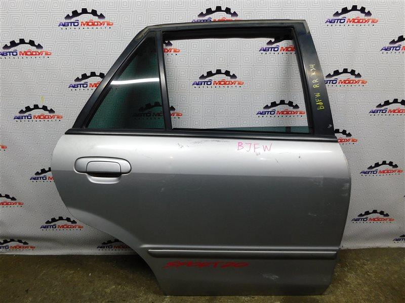 Дверь Mazda Familia S-Wagon BJFW-104603 FS 2000 задняя правая