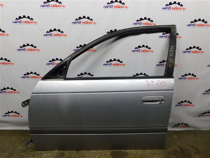 Дверь Toyota Caldina ST210-4002125 3S-FE 1997 передняя левая