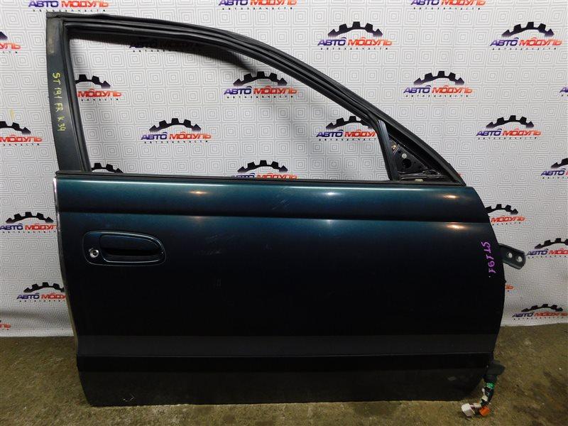 Дверь Toyota Caldina ST191-4039168 3S-FE 1996 передняя правая