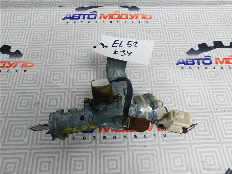 Замок зажигания Toyota Cynos EL52-0001387 4E-FE 1995