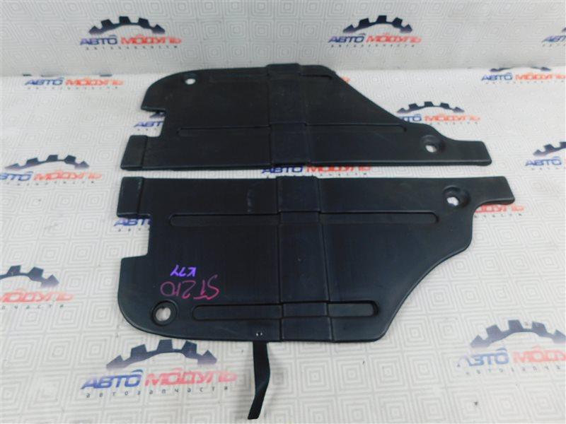 Пол багажника пластик Toyota Caldina ST210-4002125 3S-FE 1997