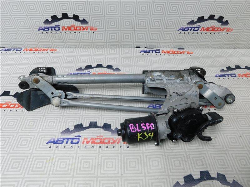 Мотор дворников Mazda Axela BL5FP-102192 ZY-VE 2009 передний