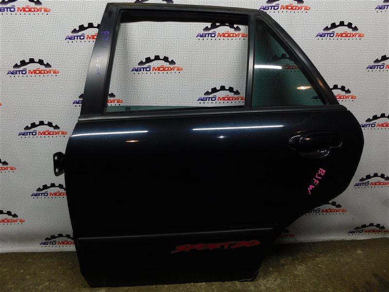 Дверь Mazda Familia S-Wagon BJFW-300316 FS 2002 задняя левая