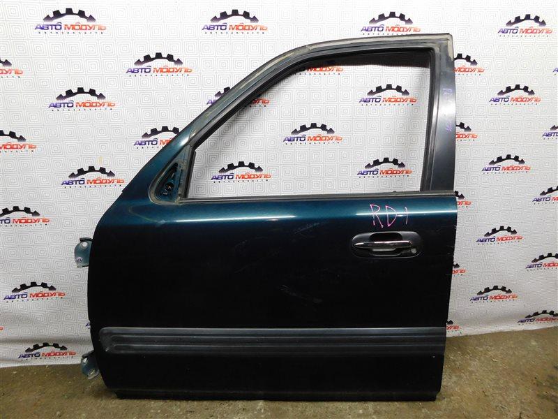 Стекло двери Honda Cr-V RD1-1046472 B20B переднее левое