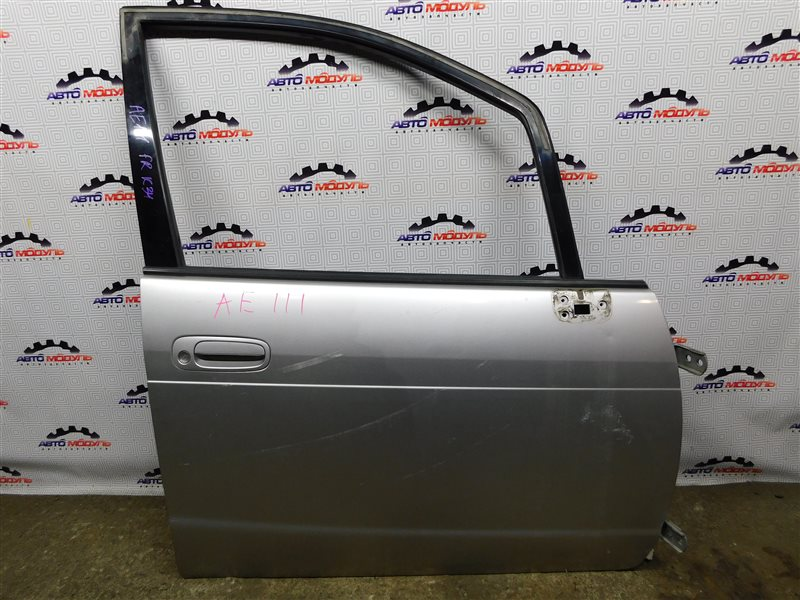 Дверь Toyota Corolla Spacio AE111-6120547 4A-FE 1999 передняя правая