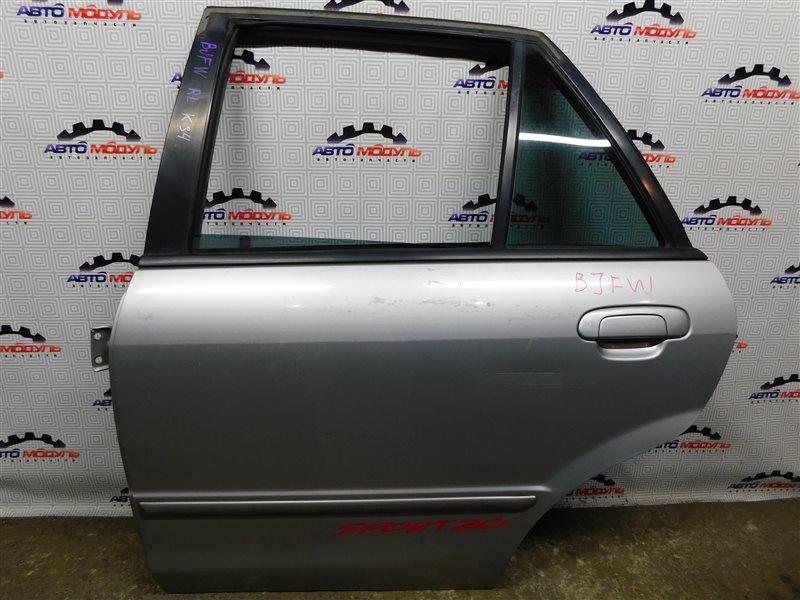 Дверь Mazda Familia S-Wagon BJFW-104603 FS 2000 задняя левая