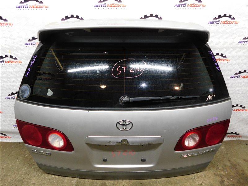 Дверь 5-я Toyota Caldina ST210-4002125 3S-FE 1997 задняя
