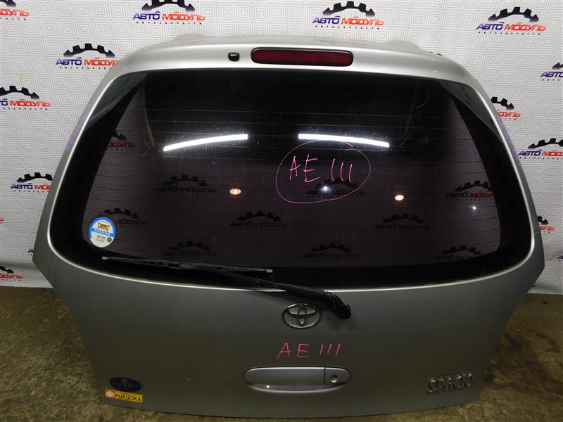 Дверь 5-я Toyota Corolla Spacio AE111-6120547 4A-FE 1999 задняя