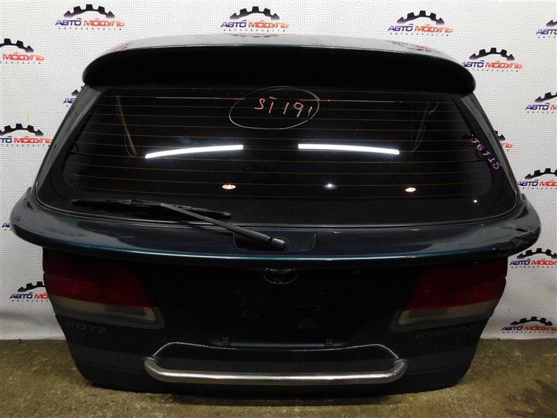 Дверь 5-я Toyota Caldina ST191-4039168 3S-FE 1996 задняя