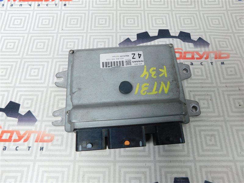 Компьютер двс Nissan X-Trail NT31-000035 MR20-DE 2007