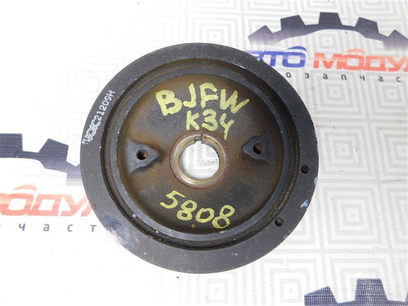 Шкив коленвала Mazda Familia S-Wagon BJFW-104603 FS 2000
