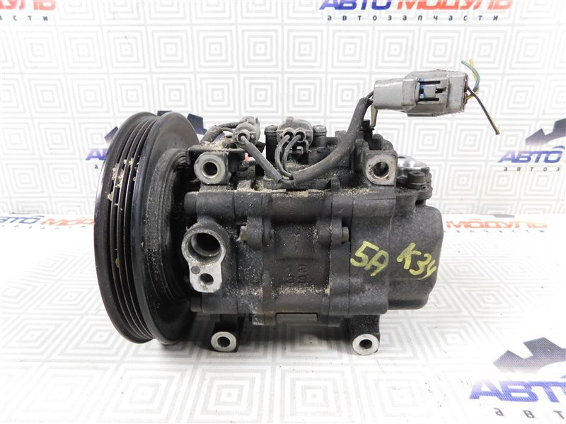 Компрессор кондиционера Toyota Sprinter AE110-7010805 5A-FE 1996