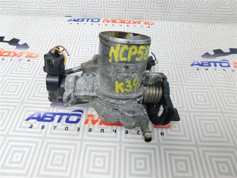 Дроссельная заслонка Toyota Probox NCP58-0022872 1NZ-FE 2003
