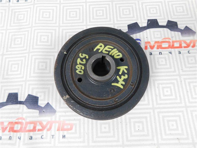 Шкив коленвала Toyota Sprinter AE110-7010805 5A-FE 1996